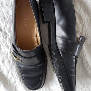 Leather Ralph Lauren loafers, size 7.5/8.